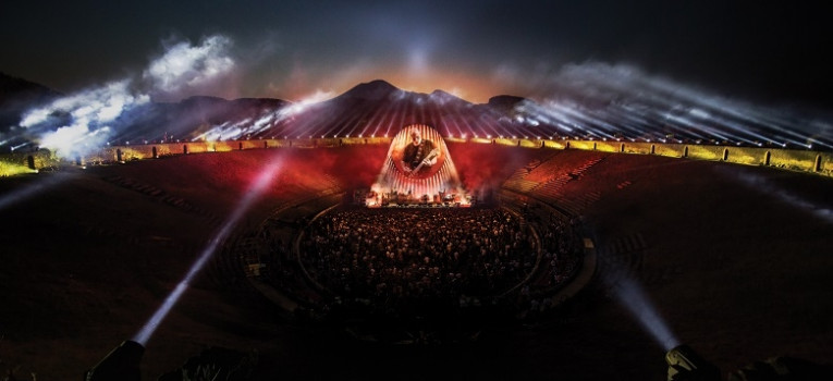 David Gilmour: Live at Pompeii Banner