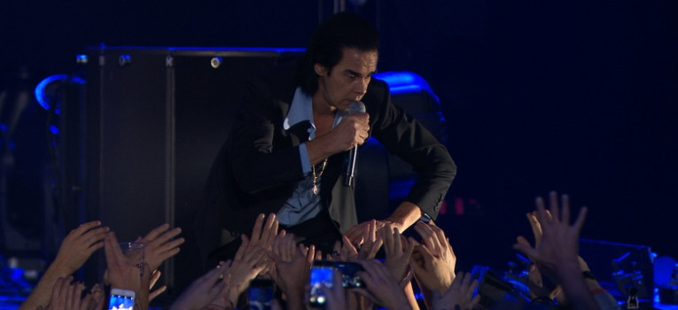 Distant Sky - Nick Cave & the Bad Seeds Live Banner