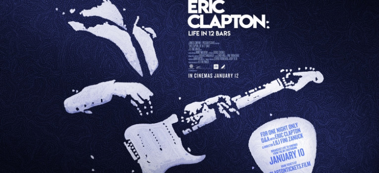 Eric Clapton: Life in 12 Bars with Live Q&A Banner