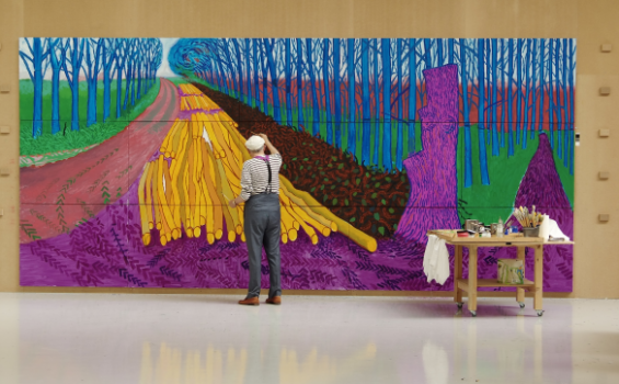 EXHIBITION ON SCREEN: David Hockney Arts Cinema