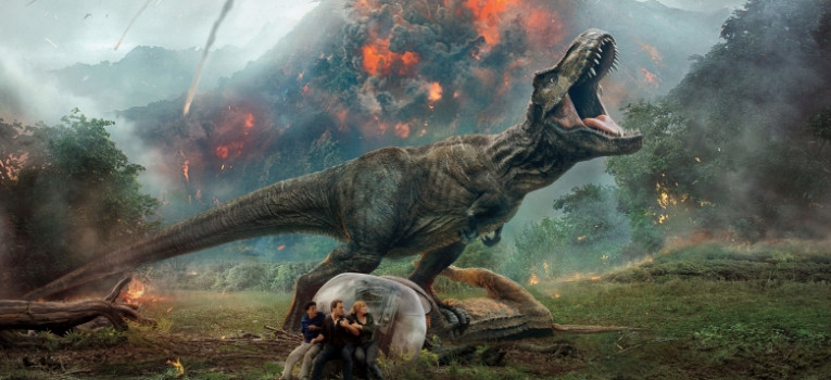 Jurassic World: Fallen Kingdom 3D Banner