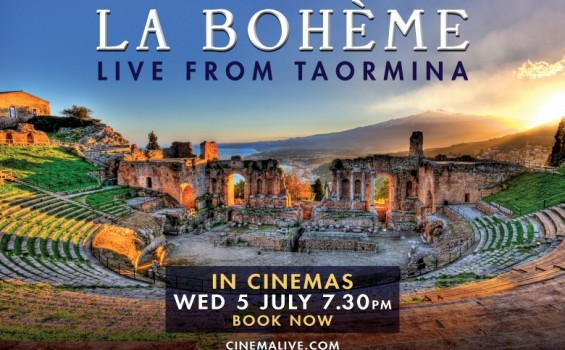La Boheme Live from Taormina Arts Cinema