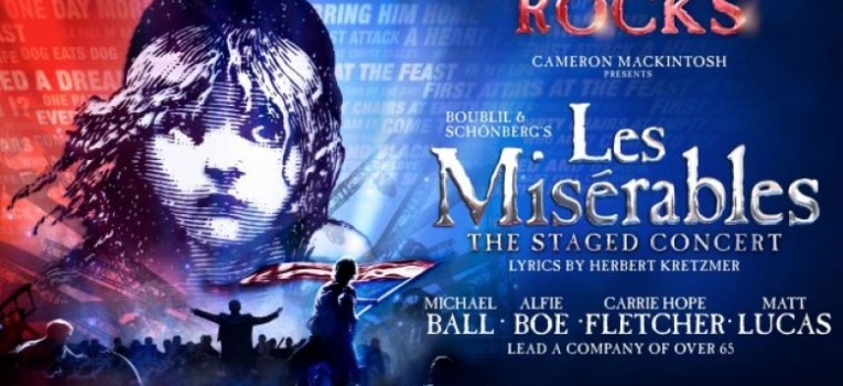 Les Miserables: The Staged Concert Banner