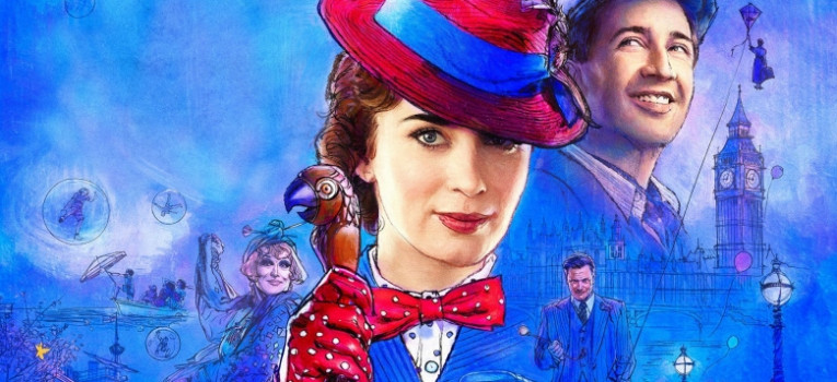 Mary Poppins Returns Banner
