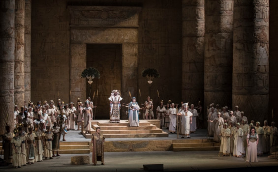 Met Opera 2018-19 Season: Aida Arts Cinema