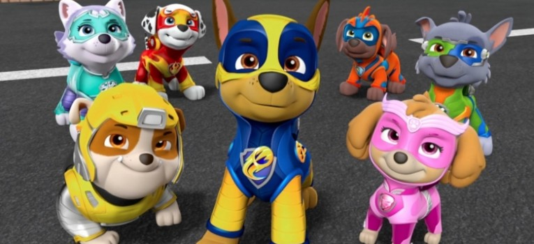 Paw Patrol: Mighty Pups Banner