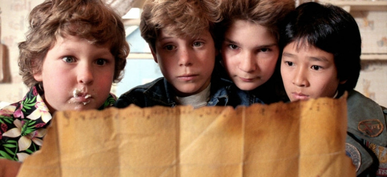 The Goonies: 4K Re-Release Banner