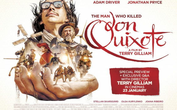 The Man Who Killed Don Quixote with Q&A Arts Cinema