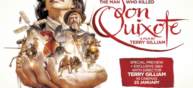 The Man Who Killed Don Quixote with Q&A Banner
