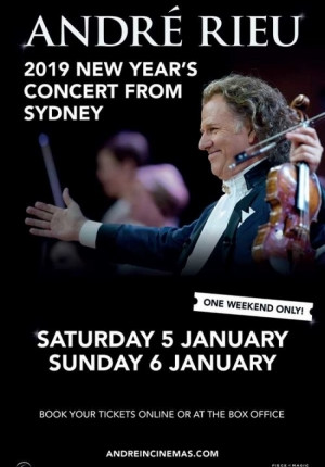 Andre Rieu New Year's Concert from Sydney 2019 Image