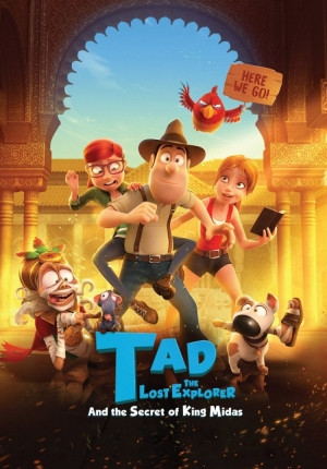 Tad the Lost Explorer and the Secret of King Midas Image